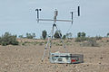 CSIRO ScienceImage 3444 Weather Equipment on the Shore of Lake Frome.jpg
