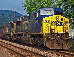 CSX Transportation - CSX train photographed in  South Shore, Kentucky, June 2005