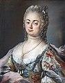 Ca' Rezzonico Sala dei pastelli - Ritratto di Cornelia Foscolo Balbi (1740-42) - Marianna Carlevaris.jpg