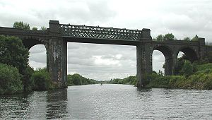 Cadishead Viaduct - Cadishead Viaduct – the bridge between Salford and Trafford in Greater Manchester, England.