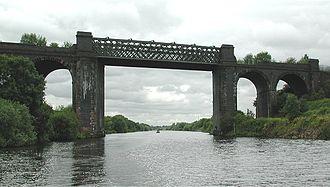 Cadishead - Image: Cadishead Viaduct
