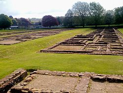 Caerleon-Roman Prysg Field Barracks.JPG