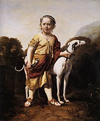 Portrait of a Girl as a Huntress