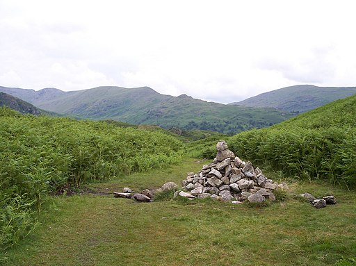 Cairn on Loughrigg Fell - geograph.org.uk - 1959555
