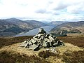 Cairn on The Girron, St Fillans, Perthshire - geograph.org.uk - 1560035.jpg