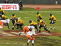 Cal on offense at 2008 Emerald Bowl 15.JPG