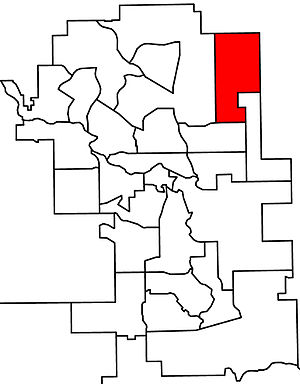 Calgary-McCall - 2010 boundaries