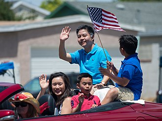Cultural assimilation - Taiwan-born U.S. politician Ted Lieu