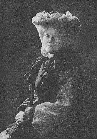 Cally Monrad - Cally Monrad. Photo 1904.