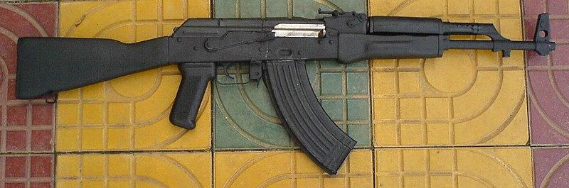 جميع الأسلحة المستخدمة من طرف الجيش الجزائري 800px-Cambodian_AK-47