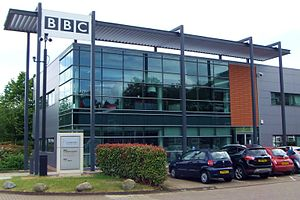 BBC Radio Cambridgeshire - BBC Cambridgeshire building at Cambridge Business Park.
