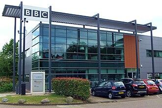 BBC Radio Cambridgeshire - BBC Cambridgeshire building at Cambridge Business Park.