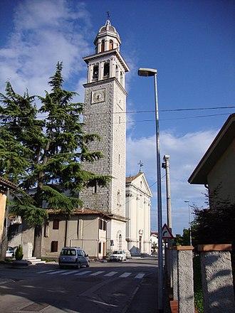 San Pier d'Isonzo - Image: Campanile San Pier Isonzo