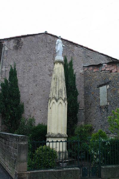 Camplong (Hérault) - Vierge.