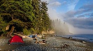Campsite at Mystic Beach, Vancouver Island, Canada.jpg