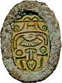 "Canaanite - Scarab with ""Udjat"" Eyes - Walters 4239 - Bottom.jpg"