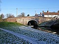 Canal bridge by Greensforge Lock - geograph.org.uk - 1672322.jpg