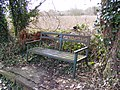 Canalside Bench - geograph.org.uk - 1778178.jpg