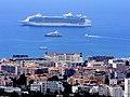 Cannes Francja - widok z posesji przy Chemin des Collines. - panoramio (2).jpg