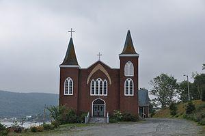 Cape Broyle - Image: Cape Broyle NL Immaculate Conception Church