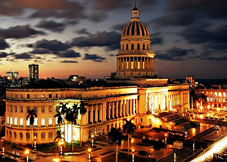 Cuban Academy of Sciences - National Capitol building