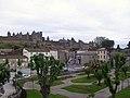 Carcassonne, Vue générale de la cité Médiévale.jpg