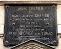 Carcassonne plaque André Chénier.jpg