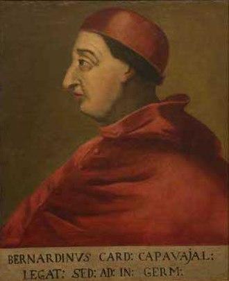 Bernardino López de Carvajal - Image: Cardeal Carvajal