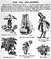 Caricature; For the Hot-Headed. Wellcome L0028022.jpg