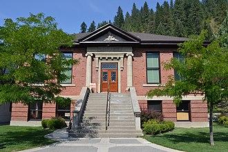 Shoshone County, Idaho - Image: Carnegie Library (Wallace, Idaho)