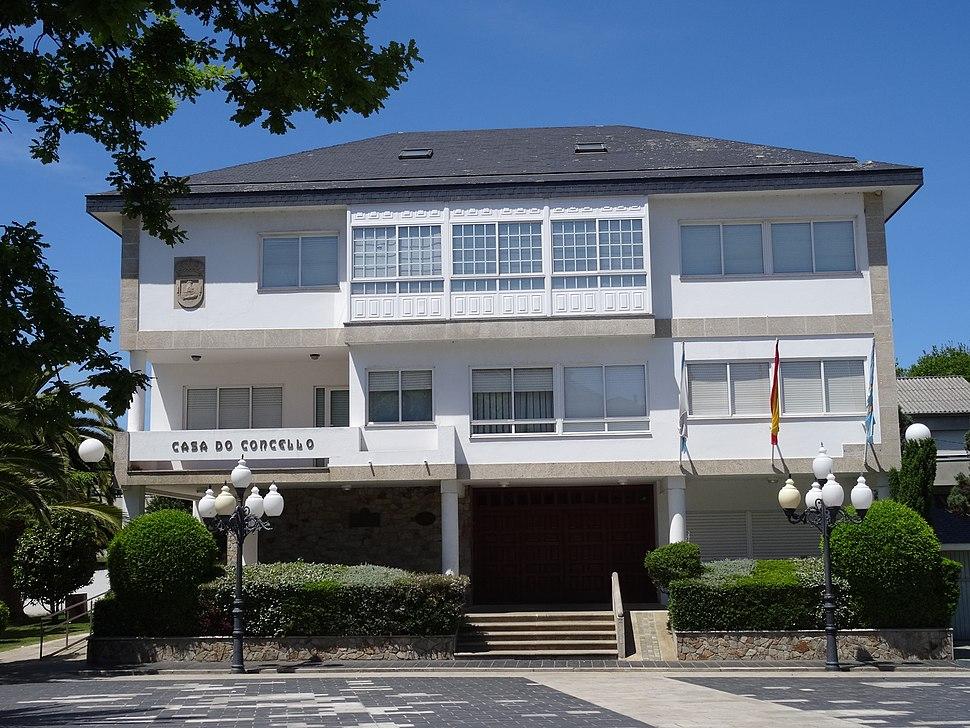 Casa concello A Laracha, Coruña, Spain