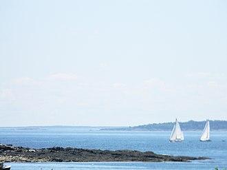 Bailey Island (Maine) - Image: Cascobaysail