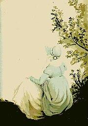 Jane Austen peinte par sa soeur (aquarelle)