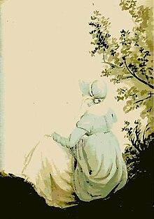 Σχέδιο της Τζέιν Όστεν, που αποδίδεται στην αδερφή της Κασσάνδρα.
