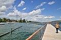 Cassiopeiasteg - Zürichsee in Zürich - Wollishofen 2015-05-06 13-52-29.JPG