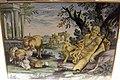 Castelli, giacomo gentili, pan in riposo tra paesaggio con rovine e animali, XVIII sec..JPG