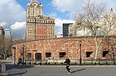 Castle Clinton im Battery Park