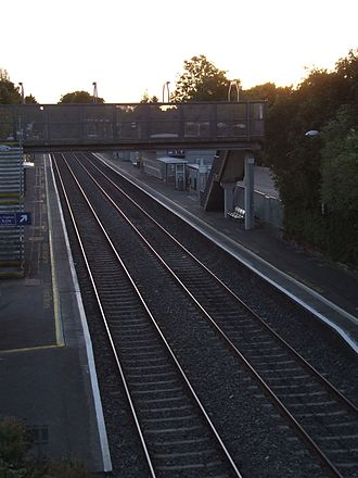 Castleknock - Castleknock Railway Station  September 2012