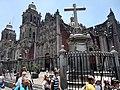 Catedral Metropolitana y Sagrario, Ciudad de México - Cruz.jpg