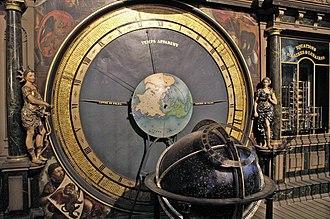 Strasbourg astronomical clock - Image: Cathedrale de Strasbourg Horloge Astronomique Details (2)