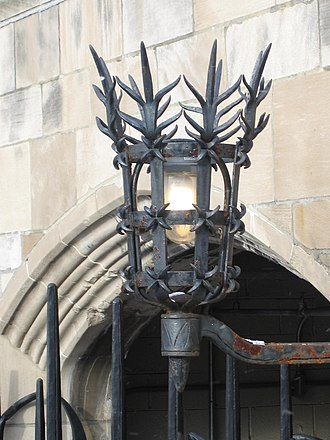Samuel Yellin - A Samuel Yellin lamp at the Cathedral of Learning in Pittsburgh, PA