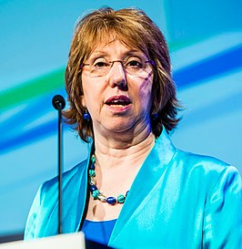 Catherine Ashton, Head of the European Defence Agency, High Representative of the Union for Foreign Affairs and Security Policy & Vice-President of the European Commission (13468295505).jpg