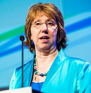Catherine Ashton British politician