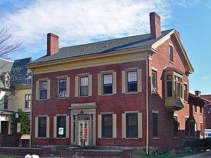 National Register of Historic Places listings in Luzerne County, Pennsylvania - Image: Catlin Hall Wilkes U WB PA