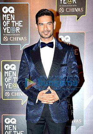 Keith Sequeira - Sequeira at the Red Carpet of GQ Men Of The Year Awards 2015