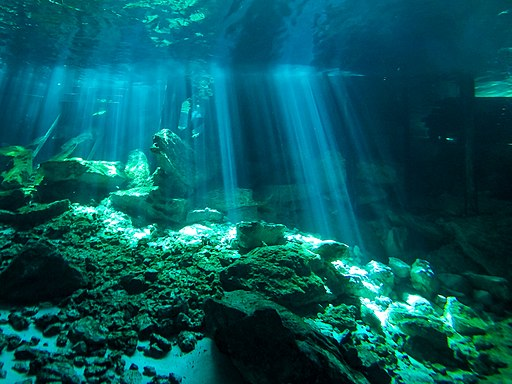 best tulum tours Cenotes Dos Ojos in Yucatan, Mexico