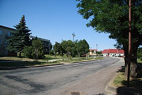 Center of Nové Syrovice, Třebíč District.JPG
