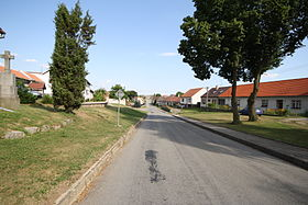 Center of Ocmanice, Třebíč District.jpg
