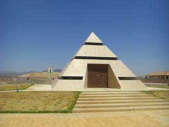 Felicity, California - Image: Center of the world pyramid