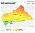 Central-African-Republic DNI Solar-resource-map lang-FR GlobalSolarAtlas World-Bank-Esmap-Solargis.png